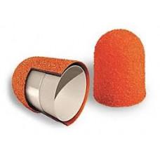 Песочные колпачки Lukas - оранжевые. Абразив 150