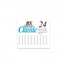 B/S - Пластина с  магнитной полоской (3 мм шириной) размер 24
