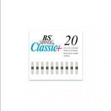 B/S  - Пластина с  магнитной полоской (шириной 4 мм) размер 20