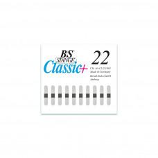 B/S - Пластина с  магнитной полоской (шириной 4 мм) размер 22