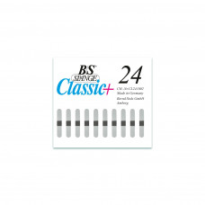 B/S - Пластина с  магнитной полоской (шириной 4 мм) размер 24