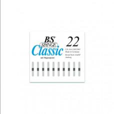 B/S - Пластина с  магнитной полоской (3 мм шириной) размер 22