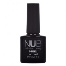 Nub топ без липкого слоя nub steel top coat 8 ml