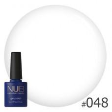 Nub гель-лак,  white collar 048, 11,8 ml