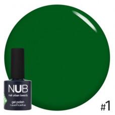 Nub  витражный гель-лак nub glass gel #1 11,8 ml