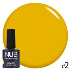 Nub  витражный гель-лак nub glass gel #2 11,8 ml