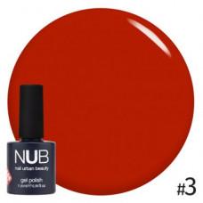 Nub  витражный гель-лак nub glass gel #3 11,8 ml
