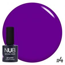 Nub  витражный гель-лак nub glass gel #4 11,8 ml