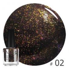 Nub декоративный лак, cosmic blackberry 02, 14 ml