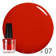 Nub декоративный лак, red room 07, 14 ml