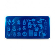 Nub stamping plate с21