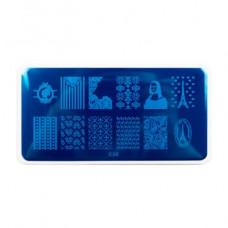 Nub stamping plate с26