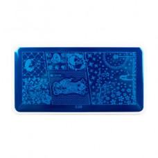Nub stamping plate с28