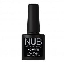Nub топ без липкого слоя,  no wipe top coat  8 ml